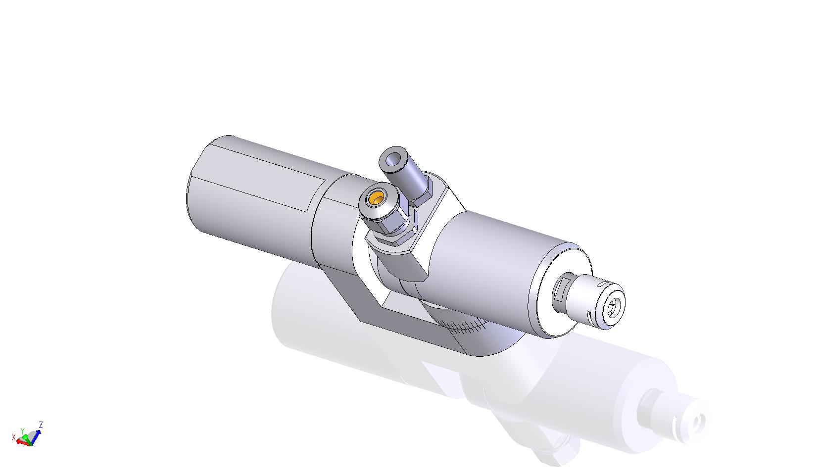 HT 25 S 60 CS - adjustable angle with 90° connector